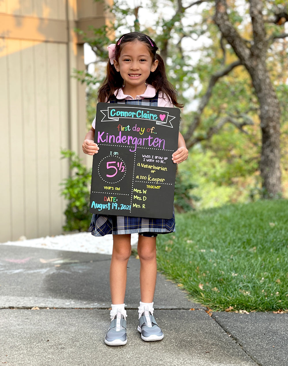 coco first day kinder