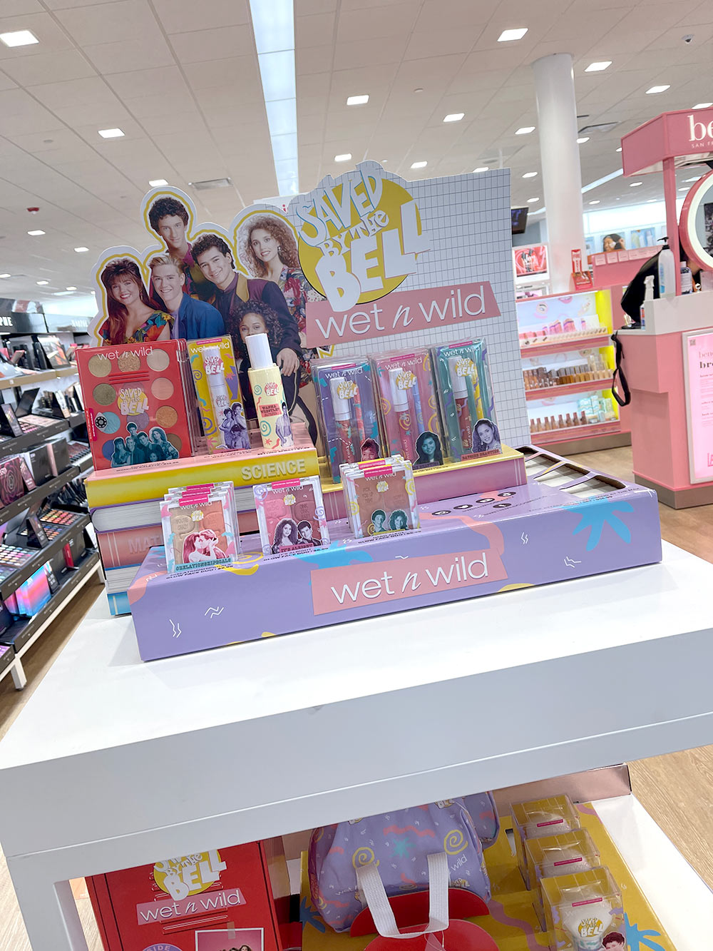 saved by the bell display