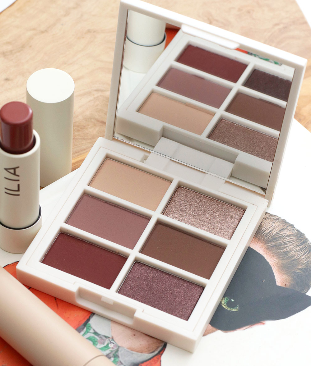 ilia the necessary eyeshadow palette cool nude