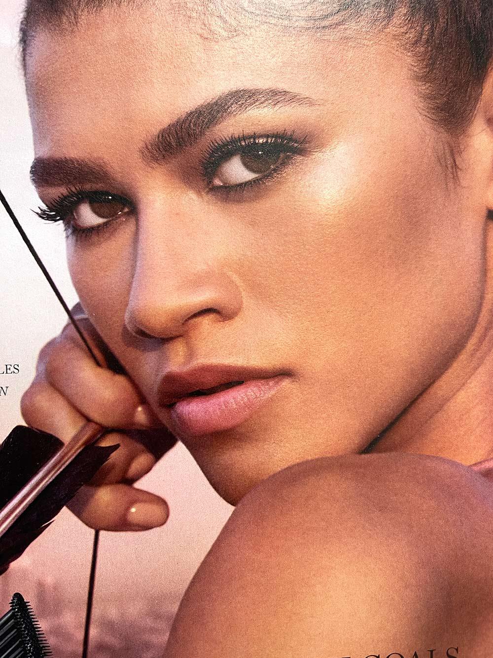 lancome zedaya mascara closeup